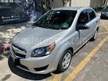 Chevrolet Aveo LT usado (2017) color Plata precio $142,000