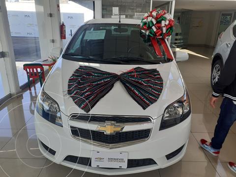 Chevrolet Aveo LT usado (2018) color Blanco precio $180,000