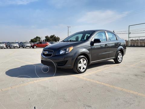 Chevrolet Aveo LS usado (2018) color Gris Oscuro precio $135,000