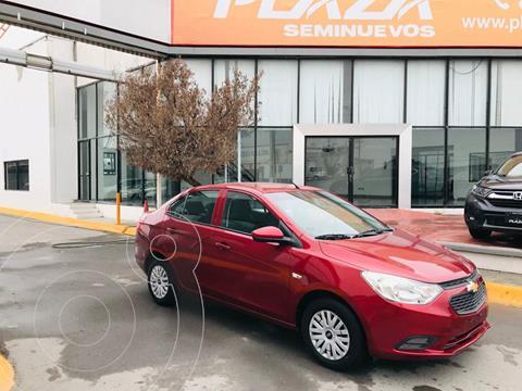 Chevrolet Aveo LS Aa usado (2018) color Rojo precio $169,000