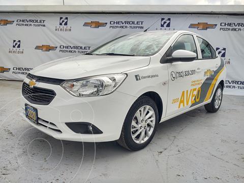Chevrolet Aveo LT usado (2020) color Blanco financiado en mensualidades(enganche $84,950 mensualidades desde $3,721)