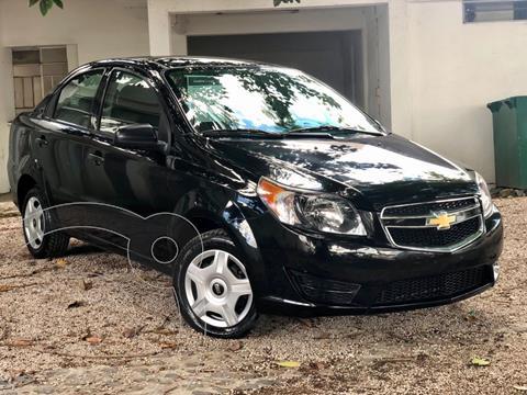 Chevrolet Aveo LS Aa usado (2017) color Negro precio $147,000