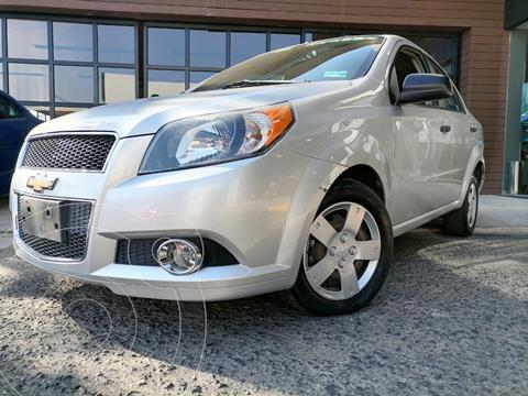 Chevrolet Aveo LS usado (2016) color Plata Brillante precio $104,000