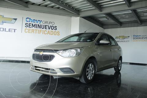 Chevrolet Aveo LS Aa usado (2018) color Crema precio $175,000