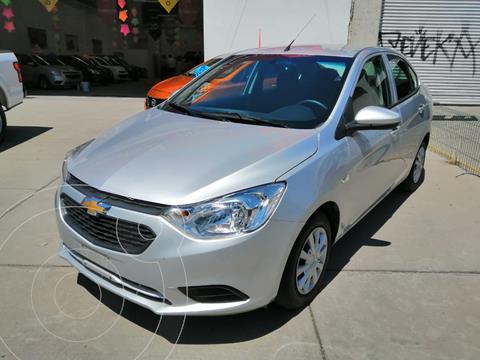 Chevrolet Aveo LS Aut usado (2018) color Plata precio $165,000