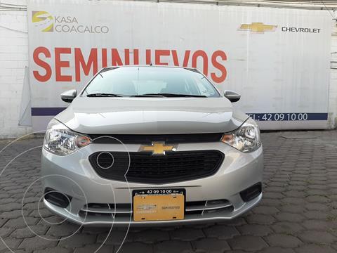 Chevrolet Aveo LS usado (2020) color Plata Dorado precio $210,000