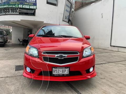Chevrolet Aveo LT usado (2017) color Rojo precio $133,000
