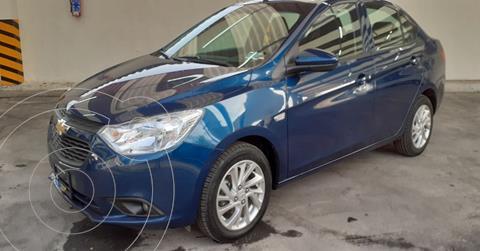 Chevrolet Aveo LT Aut usado (2020) color Azul precio $184,900
