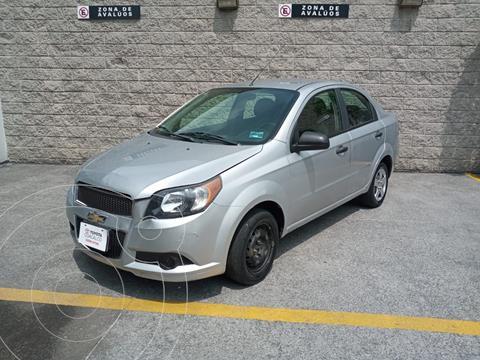 Chevrolet Aveo LS Aa usado (2014) color Plata Dorado precio $105,000
