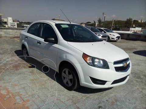 Chevrolet Aveo 4P LS L4/1.6 MAN usado (2017) color Blanco precio $135,000