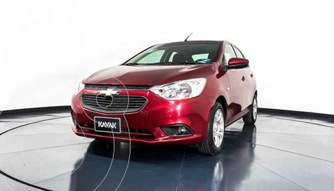 Chevrolet Aveo LT  usado (2019) color Rojo precio $198,999
