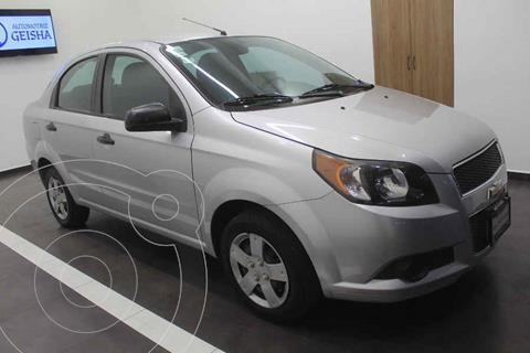 Chevrolet Aveo LS Aa usado (2014) color Plata precio $99,000