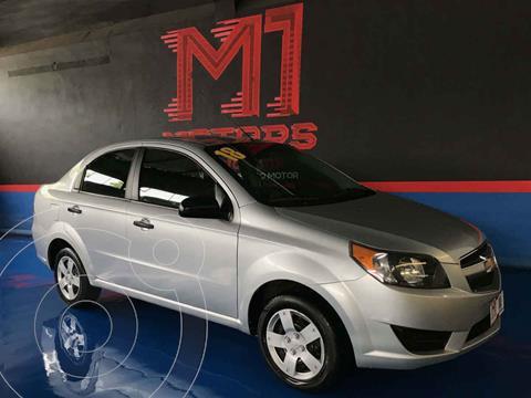 Chevrolet Aveo LS Aut usado (2018) color Plata precio $145,900