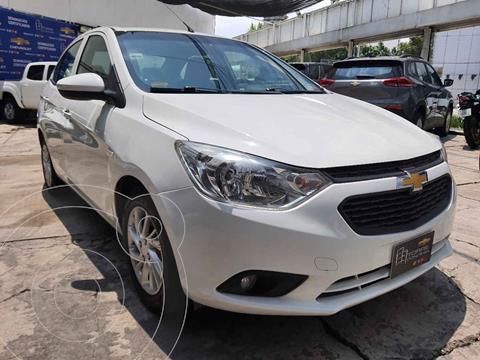 Chevrolet Aveo Paq D usado (2020) color Blanco precio $194,000