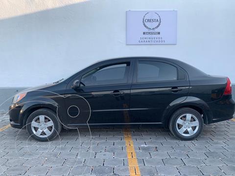 Chevrolet Aveo LS Aa radio (Nuevo) usado (2012) color Negro Grafito precio $94,900