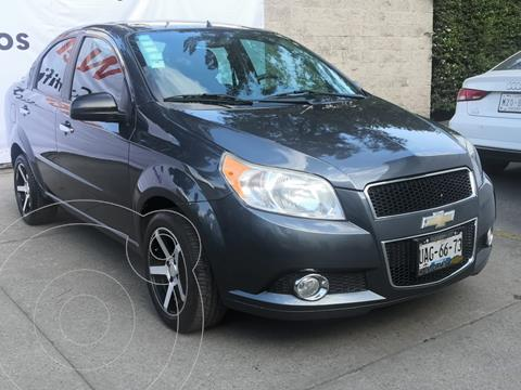 Chevrolet Aveo LTZ usado (2015) color Gris precio $115,000