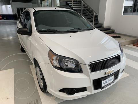 Chevrolet Aveo LS usado (2014) color Blanco precio $112,000