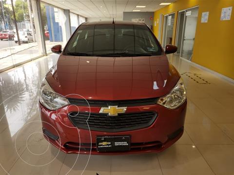 Chevrolet Aveo LS Aa usado (2018) color Rojo precio $161,900