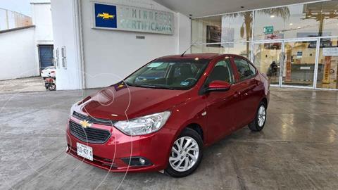 Chevrolet Aveo Paq C usado (2020) color Rojo precio $210,000