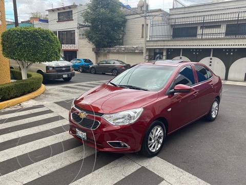 Chevrolet Aveo LTZ usado (2018) color Rojo precio $159,900