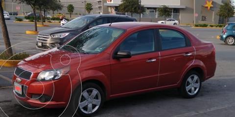Chevrolet Aveo LS Aut usado (2016) color Naranja precio $125,000