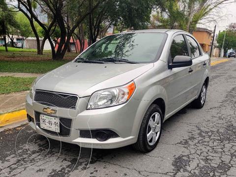 Chevrolet Aveo LS Aut usado (2013) color Plata precio $105,000