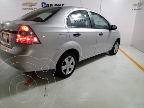 Chevrolet Aveo LS Aa usado (2018) color Plata precio $145,000