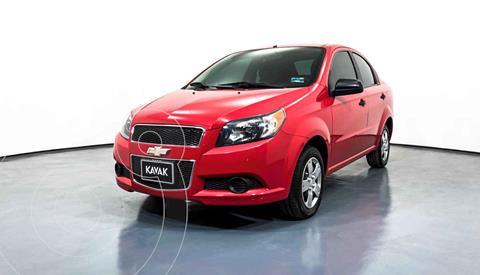 Chevrolet Aveo LS Aa usado (2016) color Rojo precio $122,999