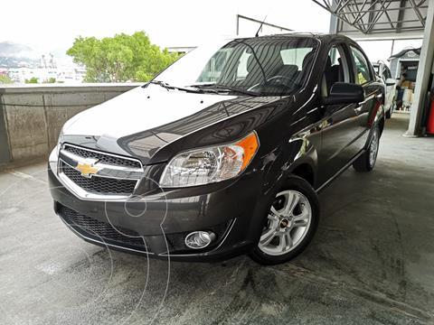 Chevrolet Aveo LTZ usado (2018) color Gris financiado en mensualidades(enganche $43,750 mensualidades desde $4,126)