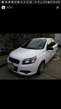 Chevrolet Aveo LS Aa usado (2014) color Blanco precio $89,500