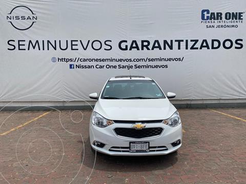 Chevrolet Aveo LTZ usado (2020) color Blanco precio $219,900