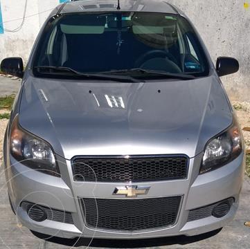 Chevrolet Aveo LT usado (2015) color Plata Brillante precio $95,000
