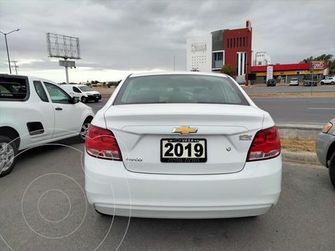 Chevrolet Aveo LS Aut usado (2019) color Blanco precio $199,900