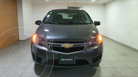 Chevrolet Aveo LT usado (2017) color Gris Oxford precio $139,000