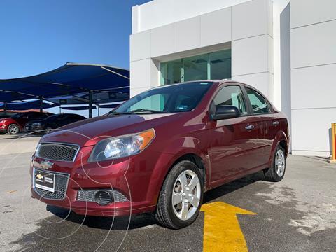 Chevrolet Aveo LT (Nuevo) usado (2015) color Rojo precio $125,500