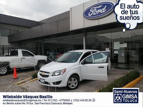 Chevrolet Aveo LS MANUAL usado (2018) color Blanco precio $138,000