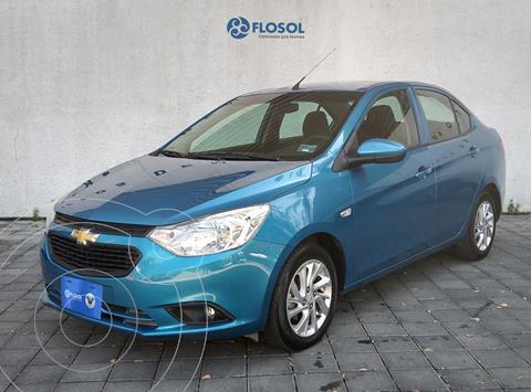 Chevrolet Aveo LT Aut usado (2018) color Azul precio $185,000