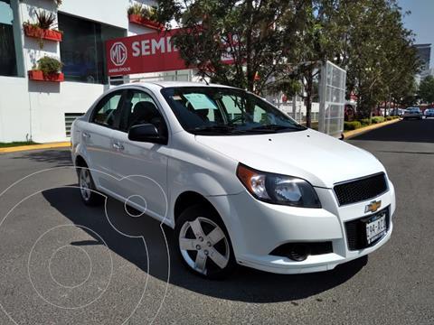 Chevrolet Aveo LS Aa radio (Nuevo) usado (2015) color Blanco precio $115,000