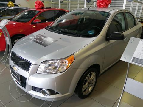 Chevrolet Aveo LTZ Aut usado (2017) color Plata precio $150,000