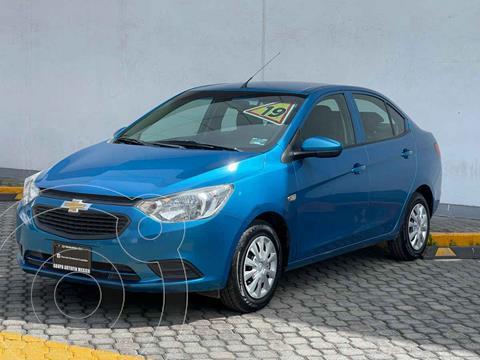 Chevrolet Aveo LS Aa usado (2019) color Azul precio $189,000