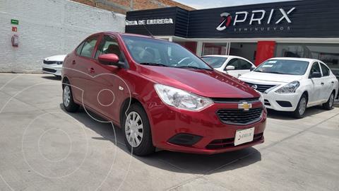 Chevrolet Aveo LS usado (2020) color Rojo precio $198,000