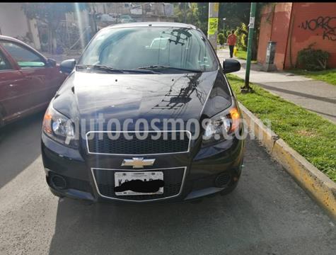 Chevrolet Aveo LS Aa usado (2015) color Negro precio $87,000