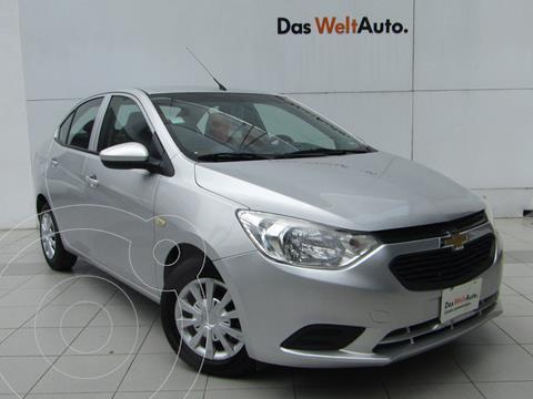 Chevrolet Aveo LS Aut usado (2020) color Plata precio $189,000