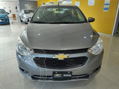 Chevrolet Aveo LT Aut usado (2020) color Gris precio $218,900