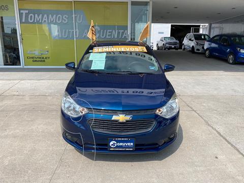 Chevrolet Aveo LT usado (2020) color Azul precio $235,000