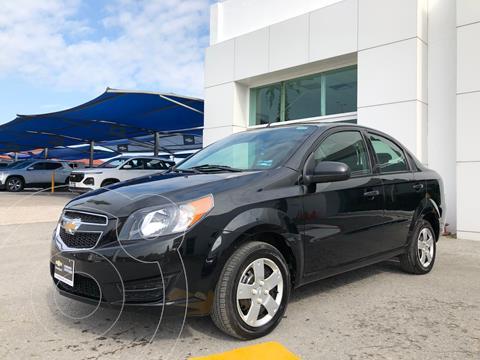 Chevrolet Aveo LS usado (2018) color Negro precio $150,000