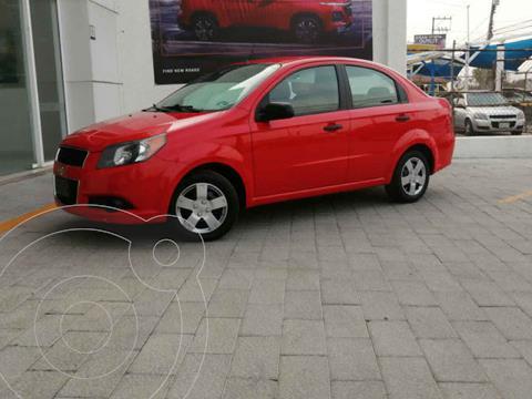Chevrolet Aveo LS usado (2017) color Rojo precio $125,000