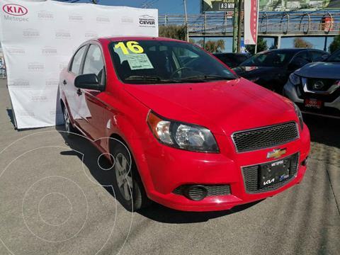 Chevrolet Aveo LS Aa usado (2016) color Rojo precio $142,000