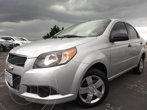 Chevrolet Aveo LS usado (2016) color Plata financiado en mensualidades(enganche $25,890 mensualidades desde $3,877)