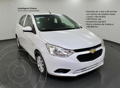 Chevrolet Aveo LS Aa usado (2020) color Blanco precio $199,000